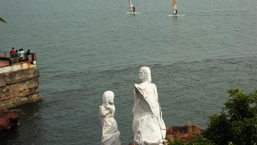Dona Paula statue Goa