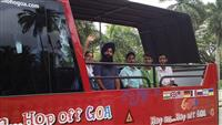 Goa Darshan in the Open HOHO Bus