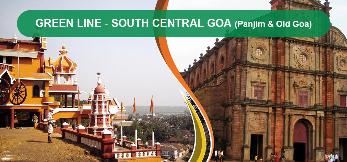 Green Line South Central Goa Panjim & Old Goa