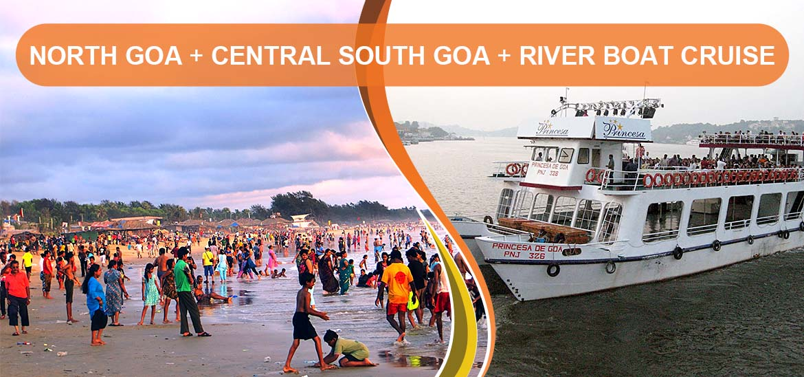North Goa Central South Goa River Boat Cruise